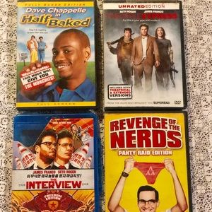 Other - 420 Friendly Comedy DVD bundle 💽
